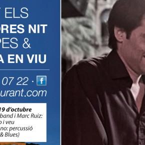 Programación de Duets musicals els divendres per la nit a QGAT restaurant&events