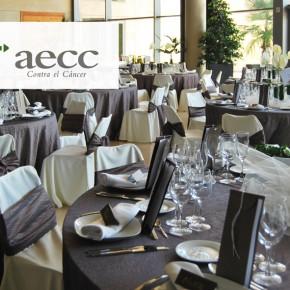 Cena a beneficio de la Asociación Española Contra el Cáncer