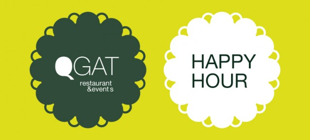 QGAT HAPPY HOUR!! Cada día de 18:00 a 20:00h