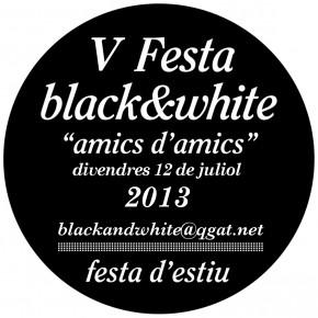 No te pierdas la V Fiesta black&white el viernes 12 de julio a las 22:00 hrs. Cena, copas y música hasta a la madrugada