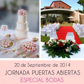 Puertas abiertas especial bodas